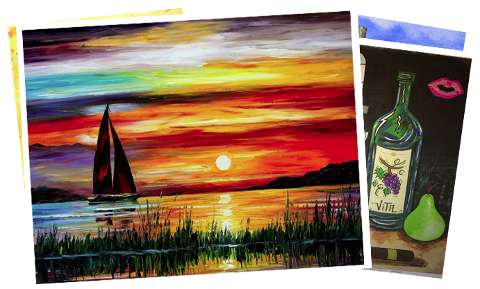 ArtWorx Events paint and sip events